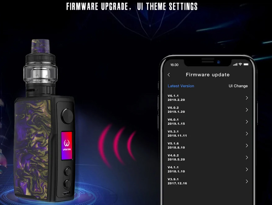 Бокс мод Vandy Vape Swell 188W