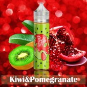 Жидкость Fluffy Puff - Kiwi & Pomegrante