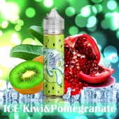 Жидкость Fluffy Puff - Ice Kiwi & Pomegranate