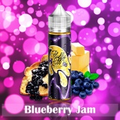 Жидкость Fluffy Puff - Blueberry Jam